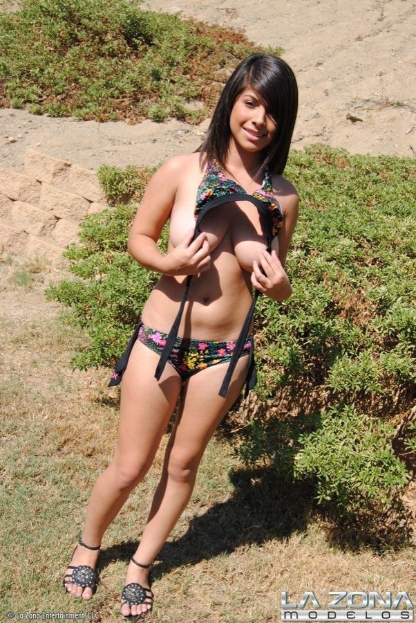 Ebony Bikini Big Tits Fuck